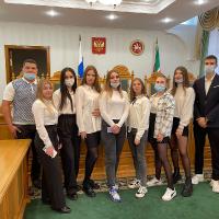 Первокурсники АСО в Конституционном суде РТ