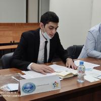 Первое заседание  «Молодежного Саммита ШОС» в Клубе молодежи мира, 2020_1