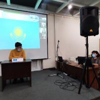 Первое заседание  «Молодежного Саммита ШОС» в Клубе молодежи мира, 2020_5